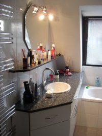 Badezimmer Renovierung Granit