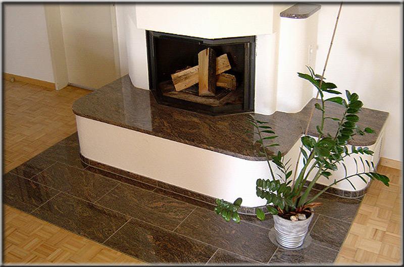 Granitplatte Ofen
