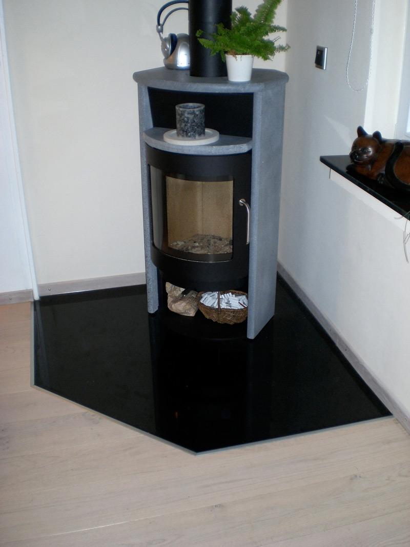 Ofen Bodenplatte Granit