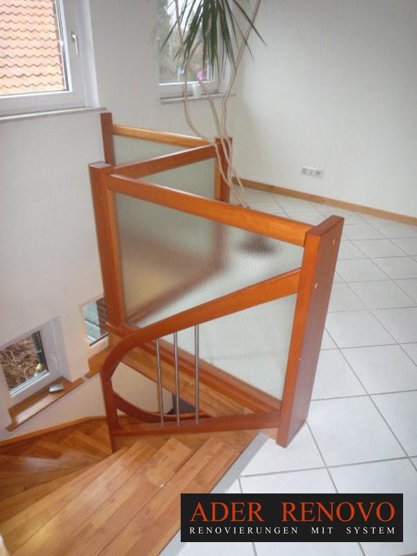 innentreppen holz kirsche va1 ader renovo. Black Bedroom Furniture Sets. Home Design Ideas