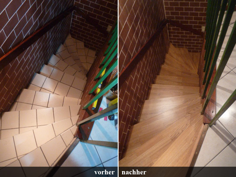 Innentreppe Holz: Vn innentreppen holz teppich ader renovo ...